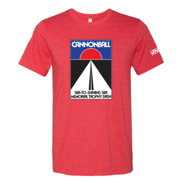 Cannonball Logo Shirt - Red