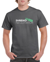 VINwiki Shrewd Negotiator T-Shirt (Dark Grey)