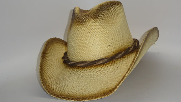 Straw Cowboy Hat TWISTED ROPE by Austin