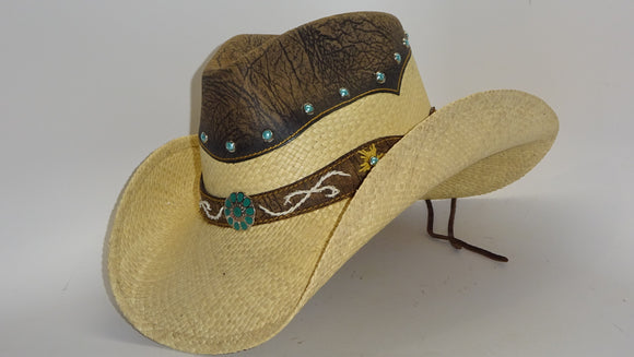 Straw Cowboy Hat TAMED by Austin