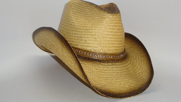 Straw Cowboy Hat BLAZE NATURAL by Austin, one of three