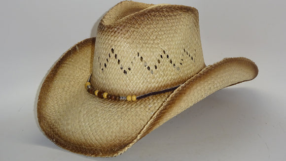 Straw Cowboy Hat DELICATE by Austin, one of four