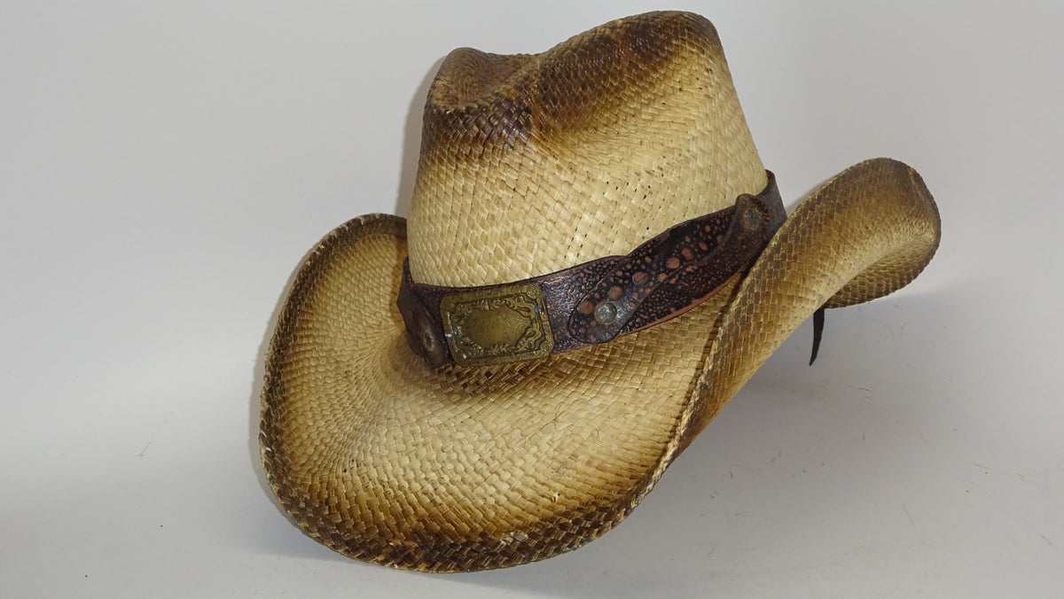 7ecbf876c92 Straw Cowboy Hat KING OF THE RANCH by Austin – The Cowboy Hats