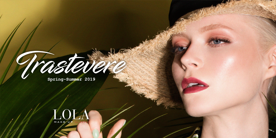 How to create the LANDSCAPE makeup look from LOLA Make Up's TRASTEVERE collection