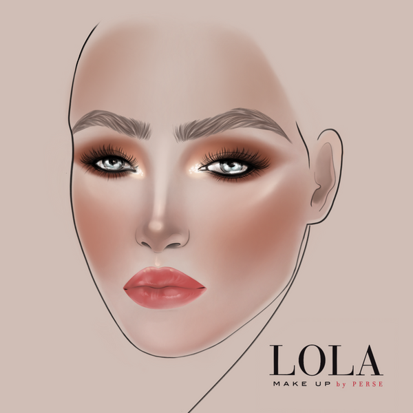 lola make up aw19 collection memories look 2 face chart
