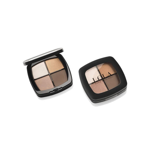 lola make up eyeshadow quad 001 natural
