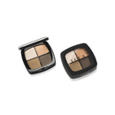 Quad Eyeshadow Pallet Brown-Gold-Dark Brown-Khaki
