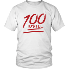 Load image into Gallery viewer, 100 HU$TLE Tee Shirt
