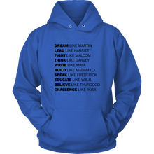 Load image into Gallery viewer, Black Excellence Hoodie (Black Text)