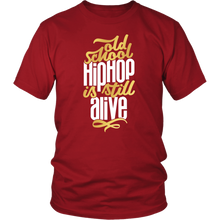Load image into Gallery viewer, Old School Hip Hop Tee (White Text)