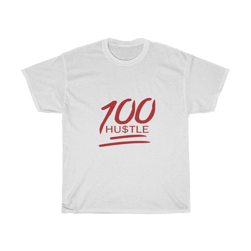 100 Hu$tle Big and Tall 5XL only T Shirt