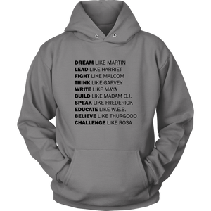 Black Excellence Hoodie (Black Text)