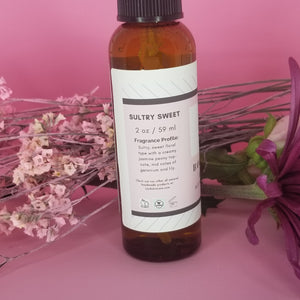Sultry Sweet All Natural Body Spray 2 oz