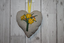 Load image into Gallery viewer, Daffodil's Hanging Heart