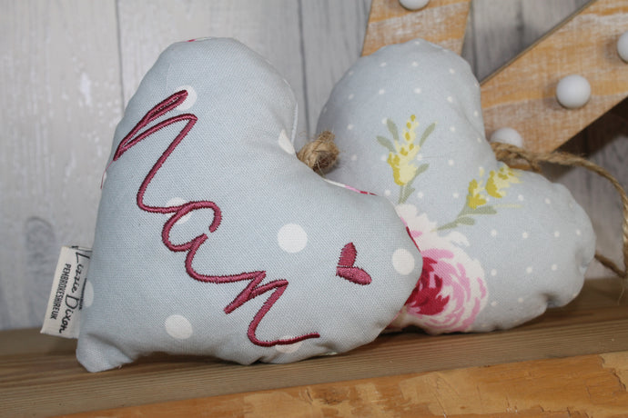 Nan Decorative Lavender Hanging Heart