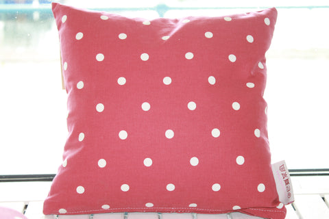 Red Dotty Cushion