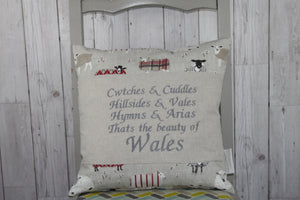 Hymns and Arias-Square Panel Cushion