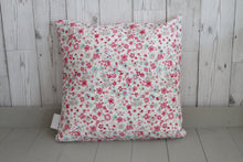 Load image into Gallery viewer, Mam Cushion -Pink Stripe and Floral