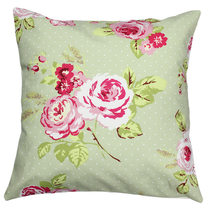 Sage Rose Cushion