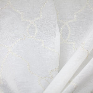 Aladdin Fabric | Embroidered Sheer