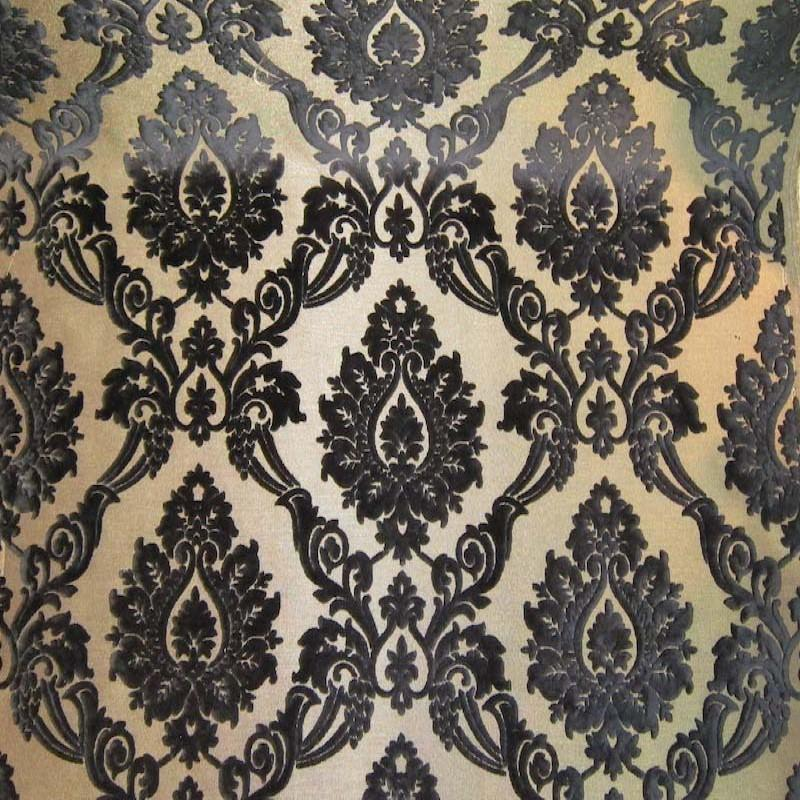 Alessandra Fabric | Color Black