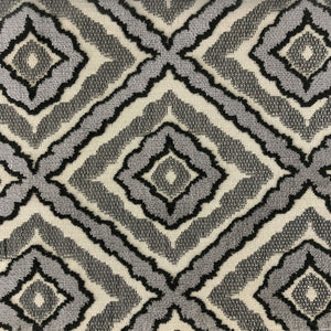 Brandis Fabric | Jacquard Velvet on Linen Look - Rodeo Home