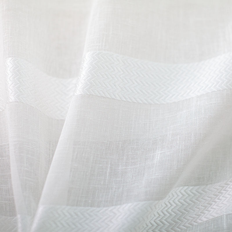 Delmar Fabric | Striped Sheer
