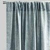 Axel Set of 2 Metallic Linen Look Curtain Panels | Size 54X96 | Color Teal