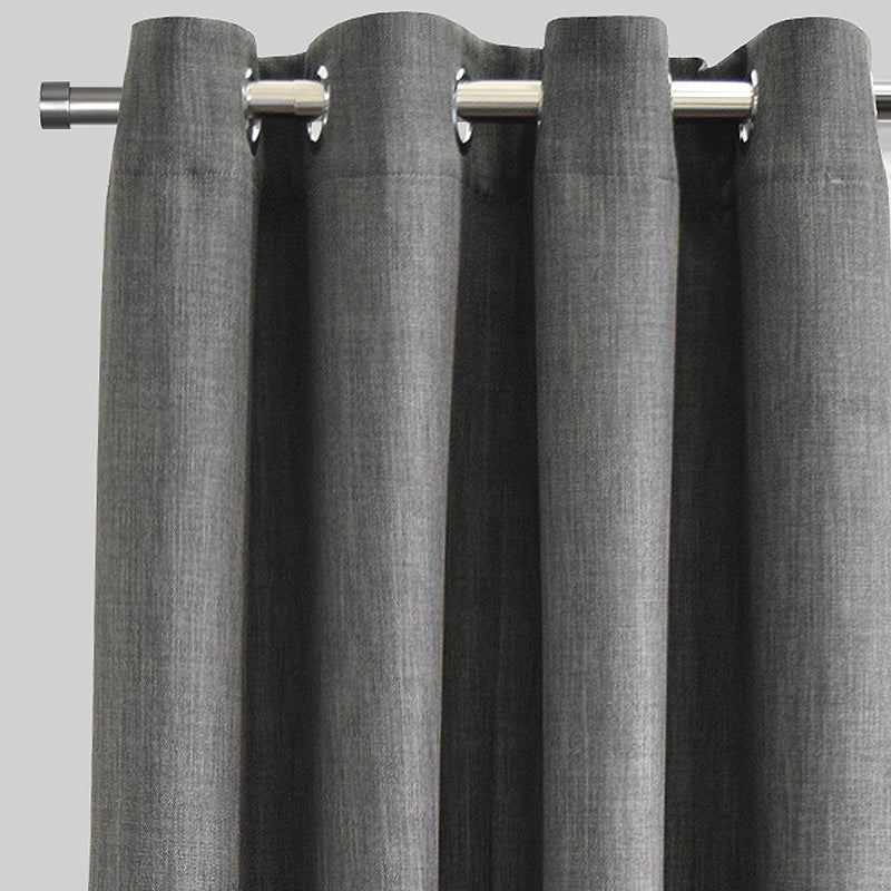 Brandy Curtain Panels | Size 54x96 | Color Charcoal