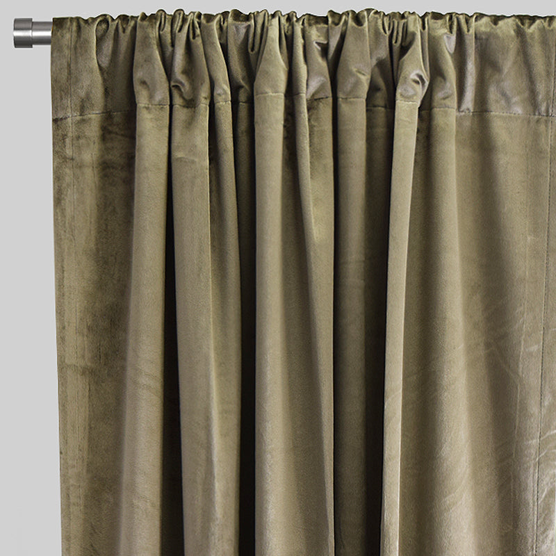 Calypso Curtain Panels | Size 54x84 | Color Pewter