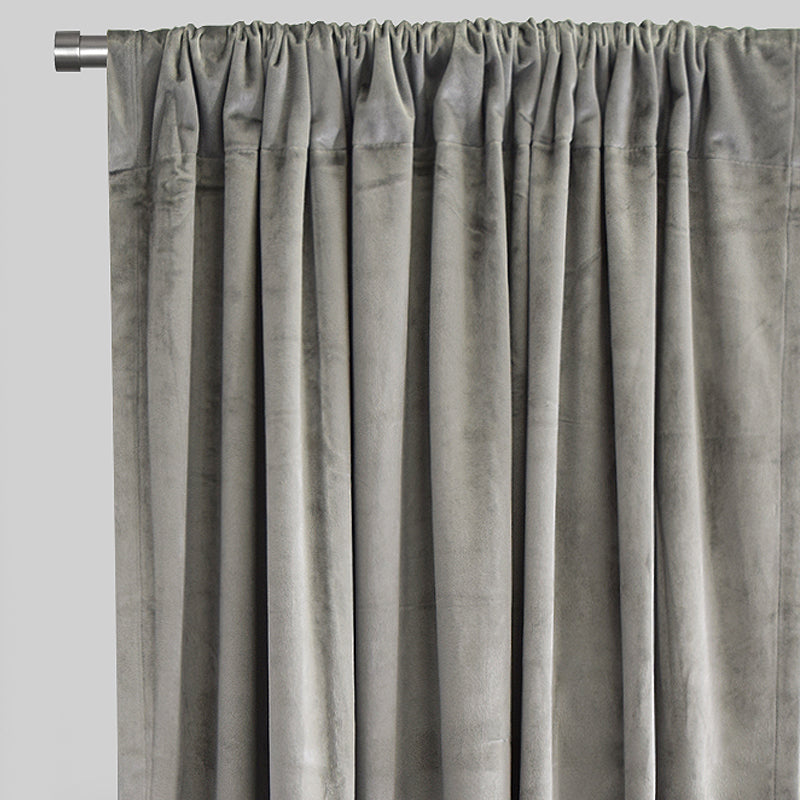 Calypso Curtain Panels | Size 54x84 | Color Silver