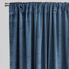 Calypso Set of 2 Velvet Curtain Panels | 54X84 | Color Ocean