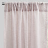 Champion Set of 2 Sheer Curtain Panels | Size 54X96 | Color Blush