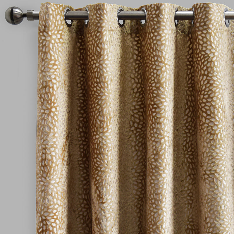 Codes Curtain Panels | Size 54x96 | Color Beige