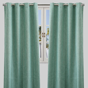 Colony Blackout Curtain Panels | Size 50X84 | Color Teal
