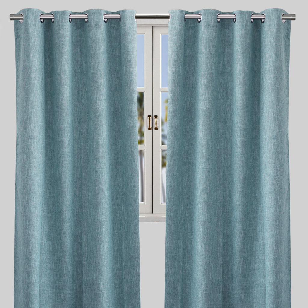 Colony Blackout Curtain Panels | Size 50X84 | Color Sky