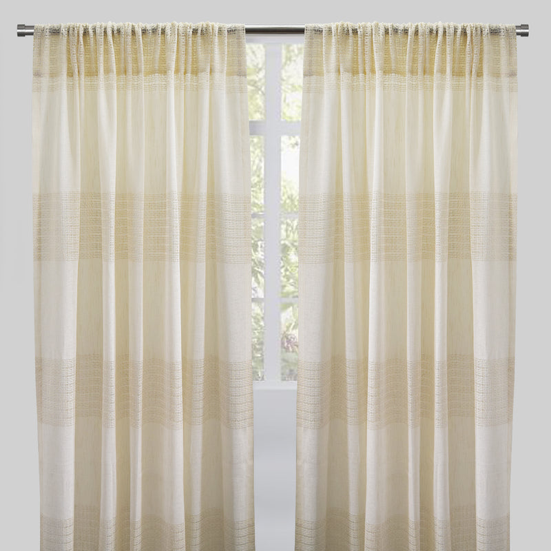 Deluca Curtain Panels | Size 54x96 | More Colors Available