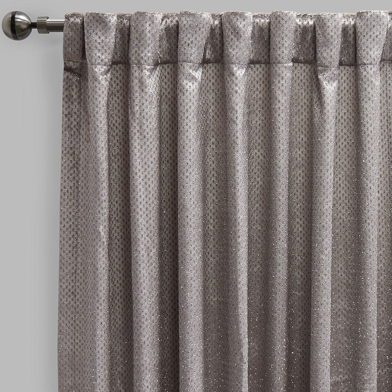 Gemma Curtain Panels | Size 54x96 | Color Silver