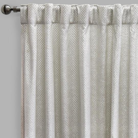 Gemma Curtain Panels | Size 54x96 | Color White