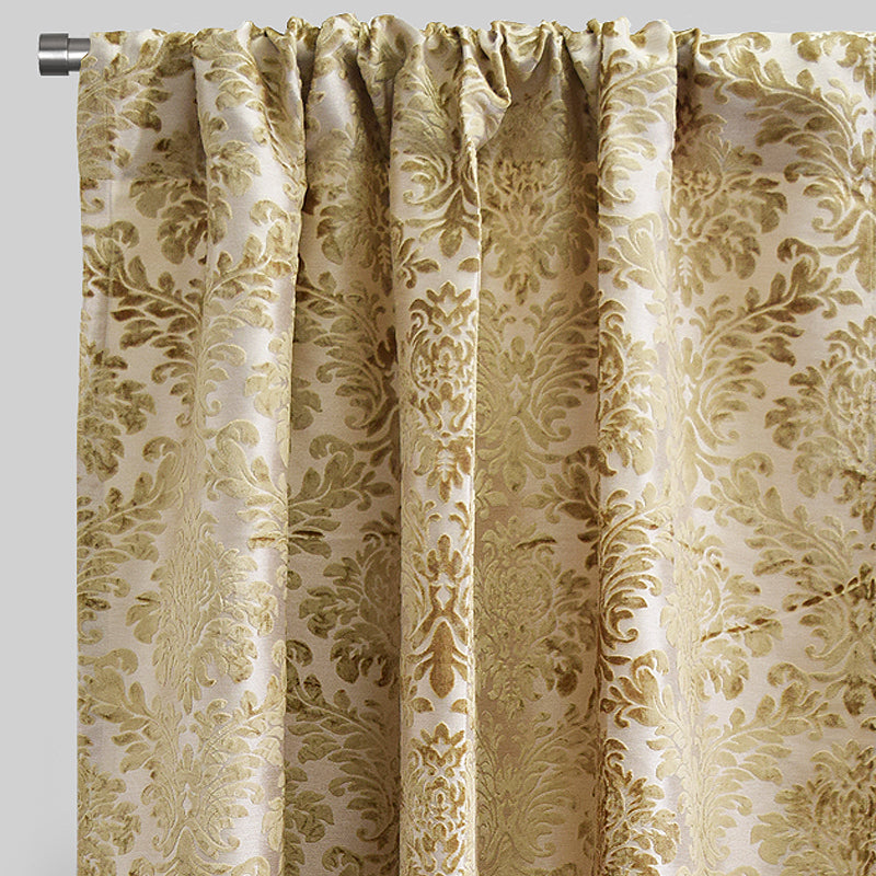 Georgina Curtain Panels | Size 54x96 | Color Beige