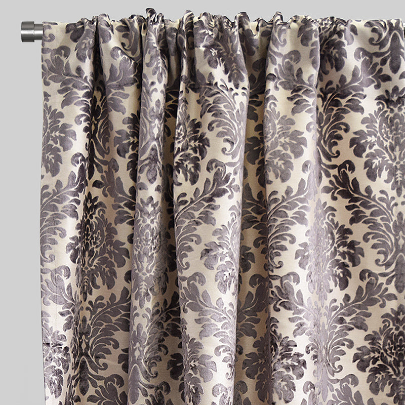 Georgina Curtain Panels | Size 54x96 | Color Gray