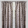 Georgina Set of 2 Cut Velvet Curtain Panels | Size 54X96 | Color Gray