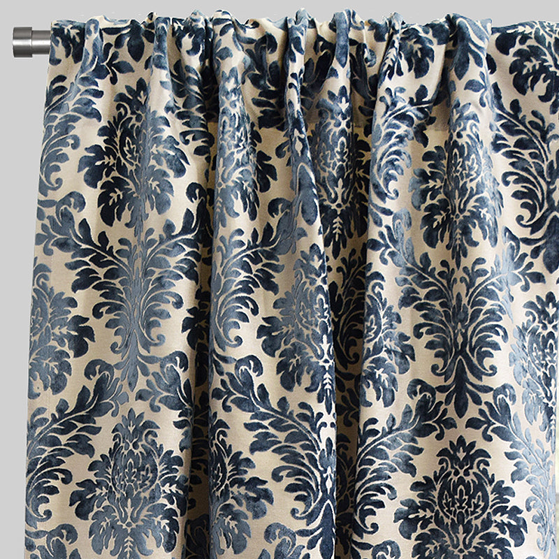 Georgina Curtain Panels | Size 54x96 | Color Ocean