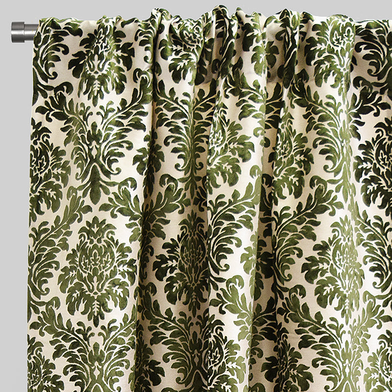 Georgina Curtain Panels | Size 54x96 | Color Olive