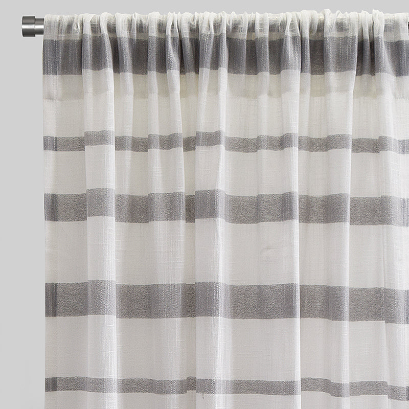 Gotti Curtain Panels | Size 54x96 | Color Grey