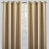 Halsey Set of 2 Linen Look Curtain Panels | Size 54X96 | Color Natural