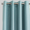 Ilan Set of 2 Room Darkening Curtain Panels | Size 54X96 | Color Spa