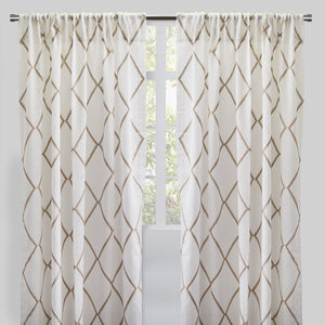Katie Curtain Panels | Size 54x96 | More Colors Available
