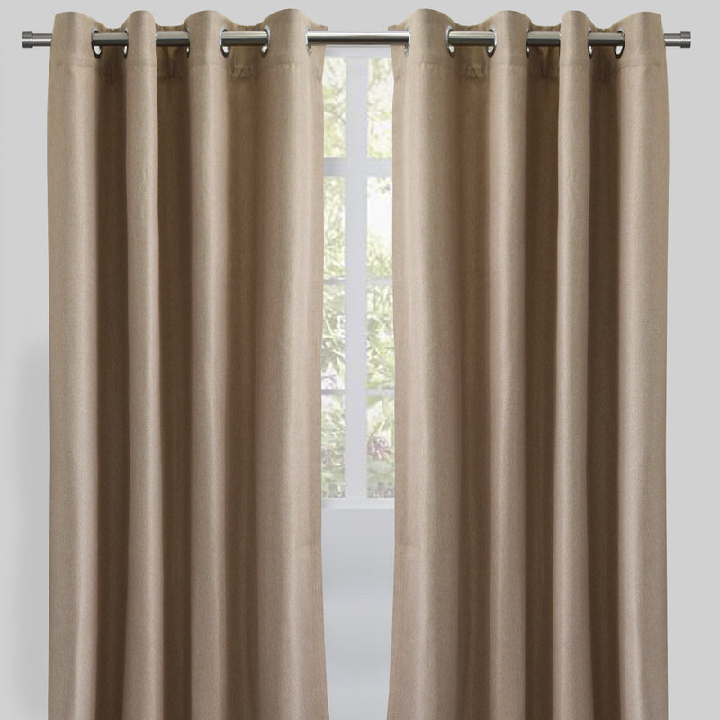 Logic Curtain Panels | Size 54X84 | Color Natural