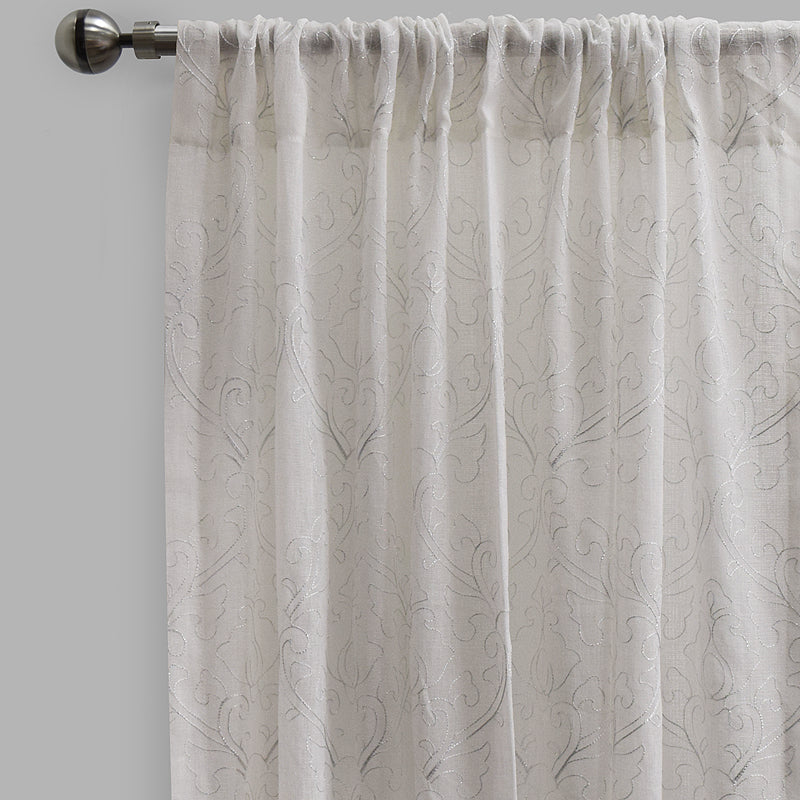 Mercury Curtain Panels | Size 54x96 | Color White